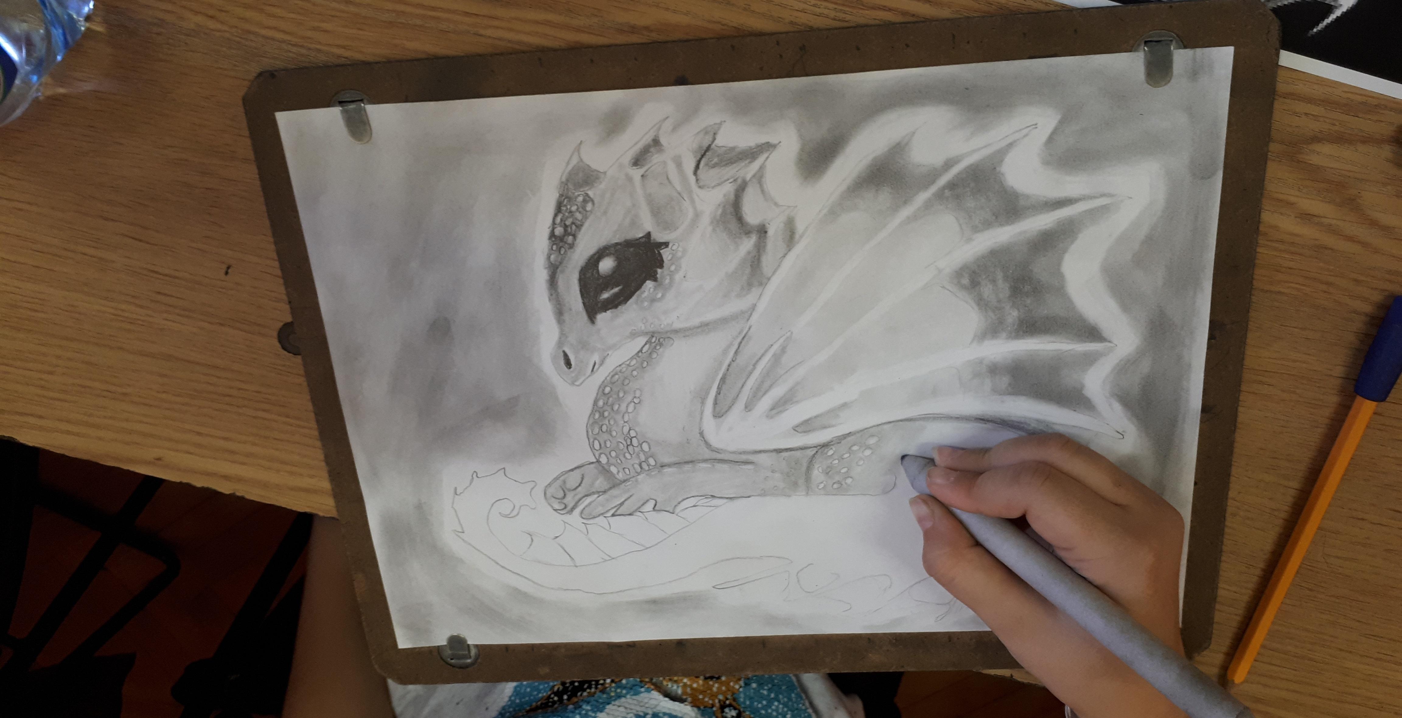sárkány rajz_közben