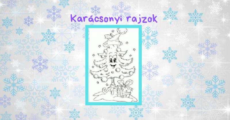 karácsonyi rajzok gyerekeknek_k