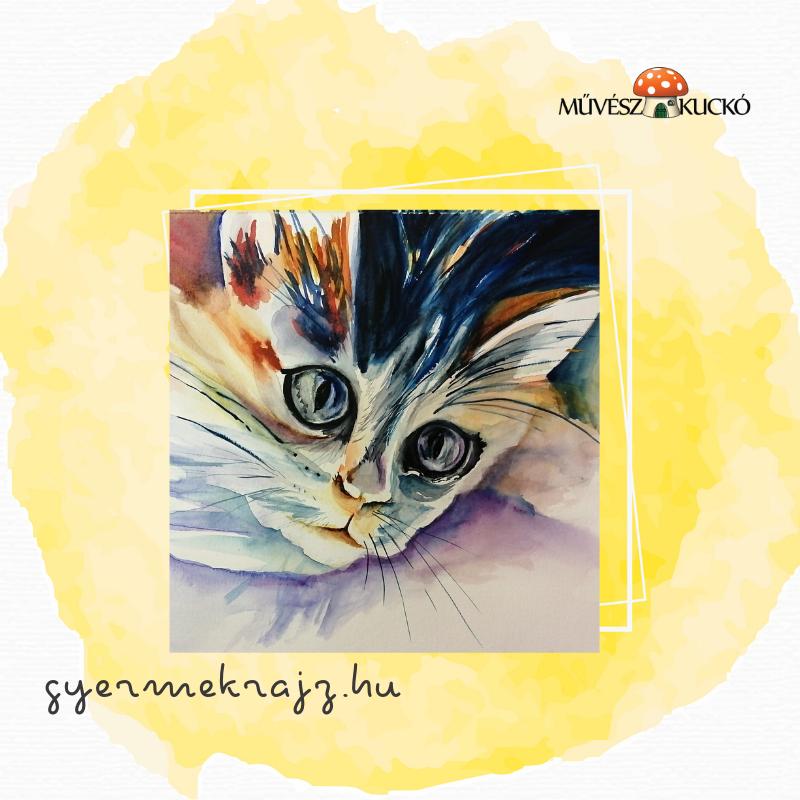 Akvarell festés online tanfolyam gyerekeknek1