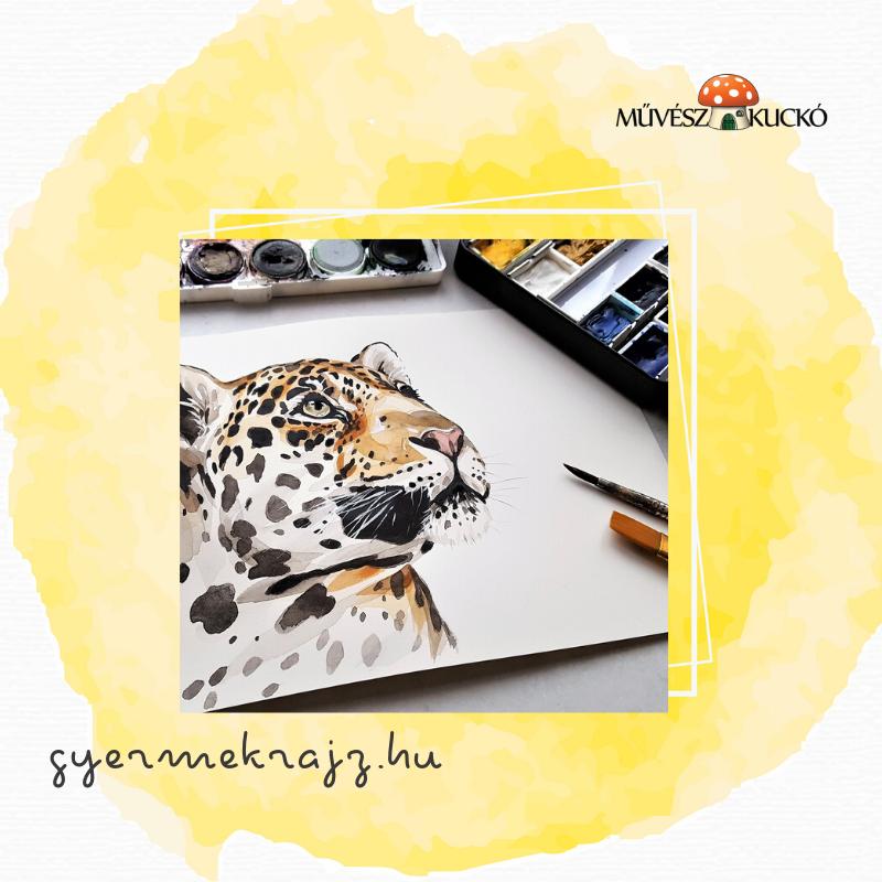 Akvarell festés online tanfolyam gyerekeknek2