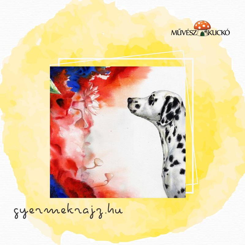 Akvarell festés online tanfolyam gyerekeknek3