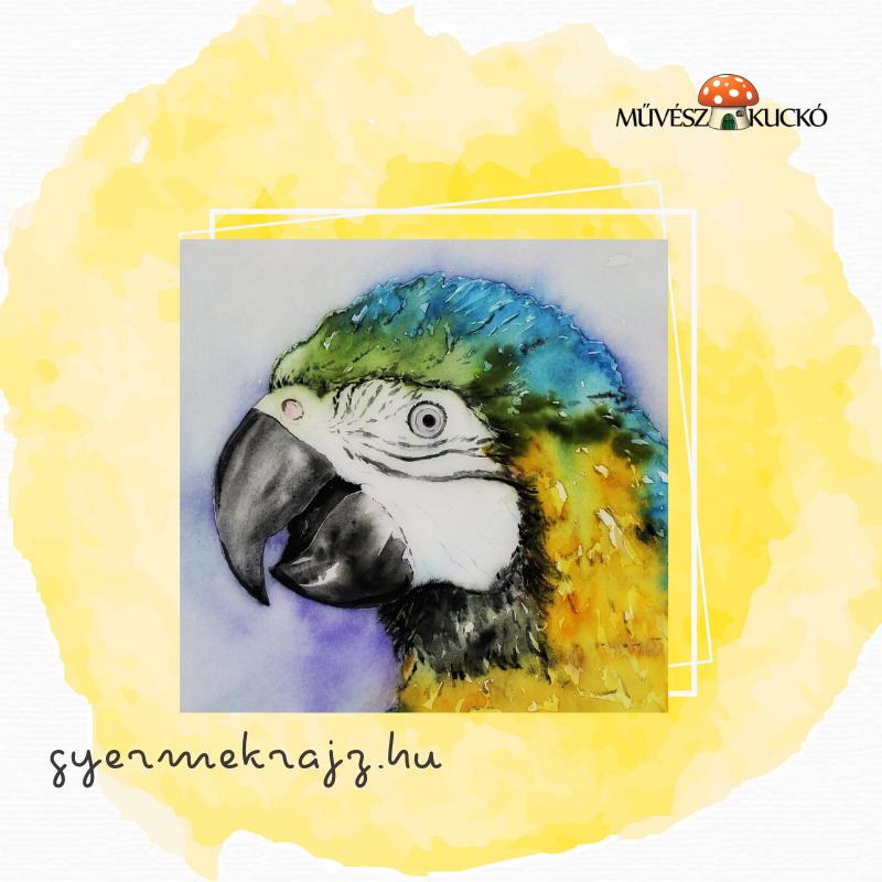 Akvarell festés online tanfolyam gyerekeknek6