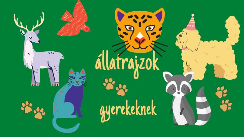 állat rajzok gyerekeknek 1